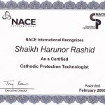 NACE Cathodic Protection Technologist