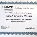 NACE Coating Inspector