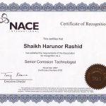 NACE Sr. Corrosion Technologist